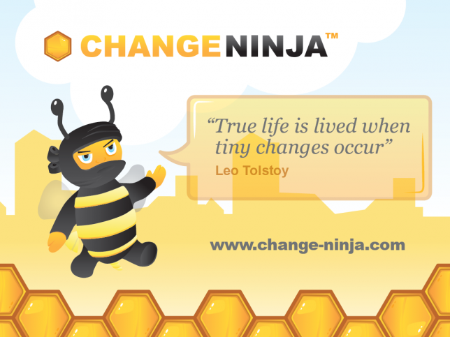 Change Ninja, making change happen